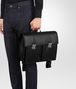 BOTTEGA VENETA NERO NAPPA BACKPACK Messenger Bag U lp
