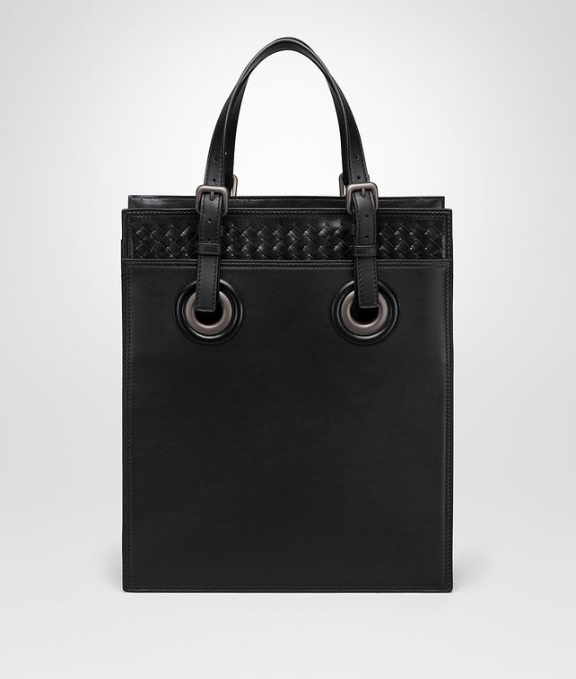BOTTEGA VENETA NERO CALF OCULUS TOTE Tote Bag [*** pickupInStoreShippingNotGuaranteed_info ***] fp