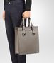 BOTTEGA VENETA STEEL CALF OCULUS TOTE Tote Bag Man ap
