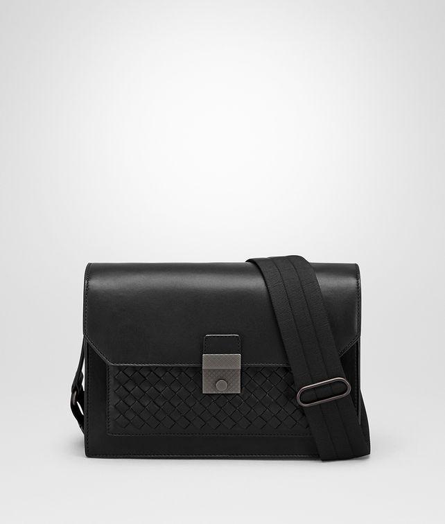 BOTTEGA VENETA NERO NAPPA MESSENGER BAG Messenger Bag Man fp