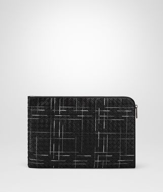 NERO INTRECCIATO NAPPA ATLAS DOCUMENT CASE