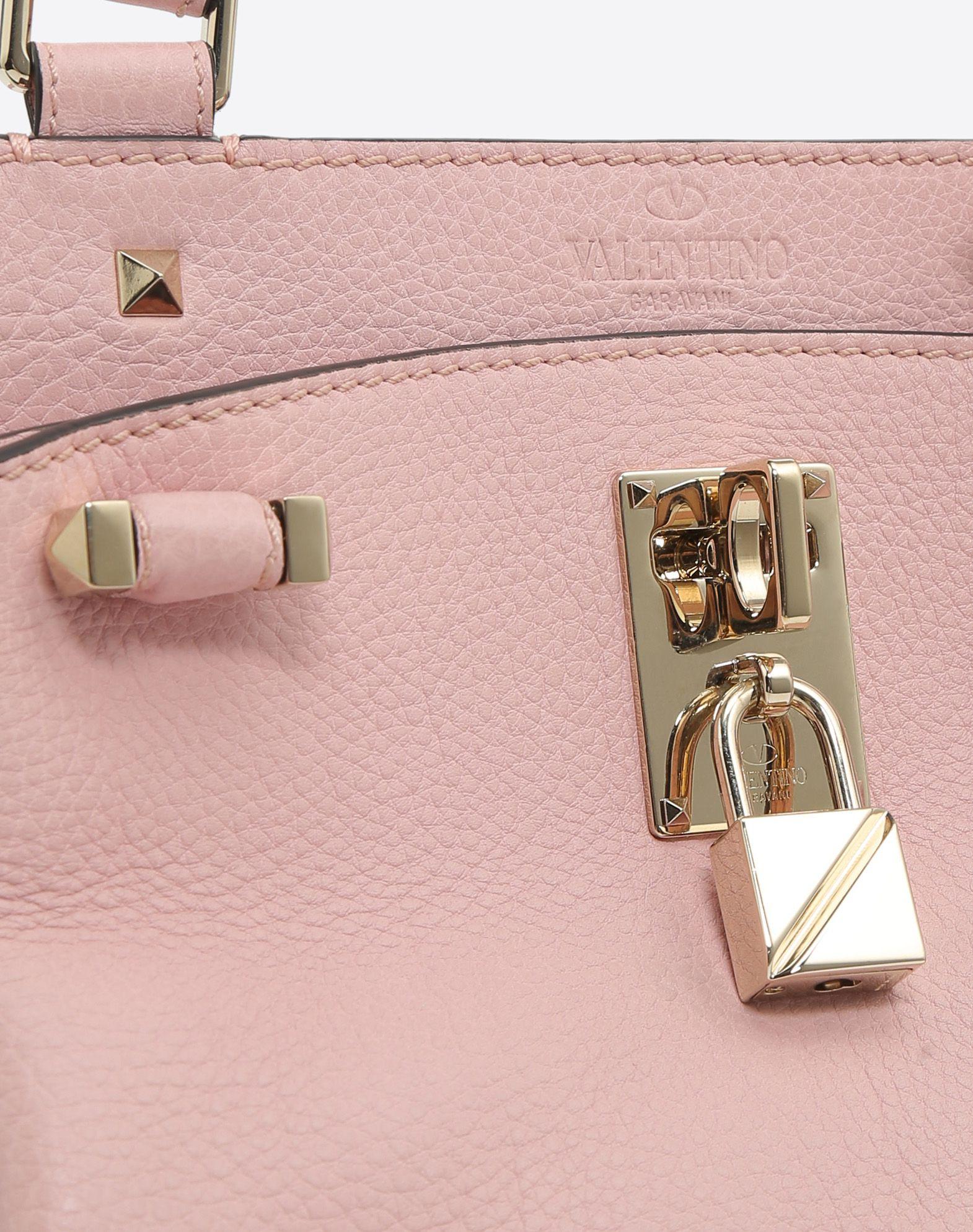 VALENTINO GARAVANI Joylock Small Handle Bag HANDBAG D b