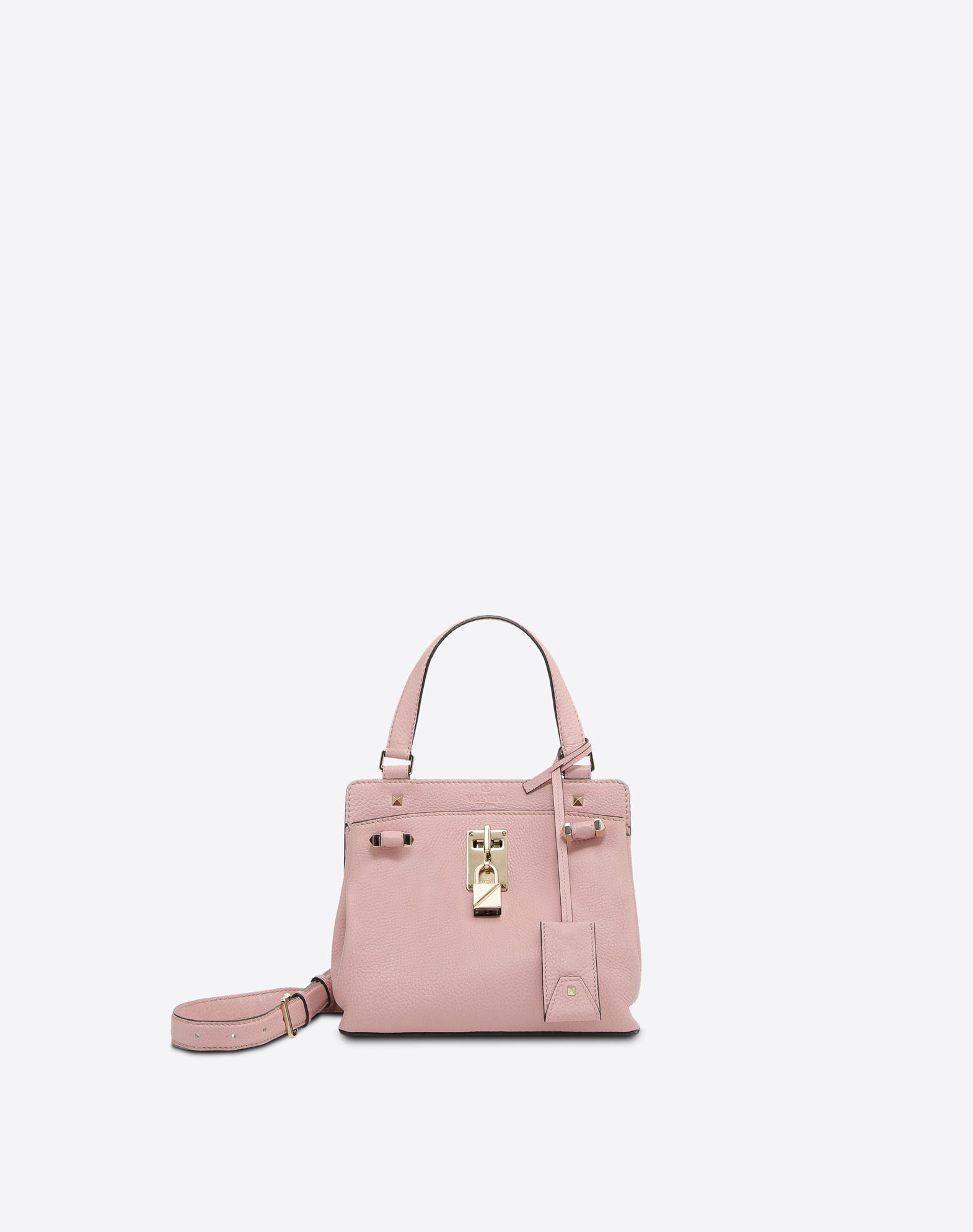VALENTINO GARAVANI Joylock Small Handle Bag HANDBAG D f