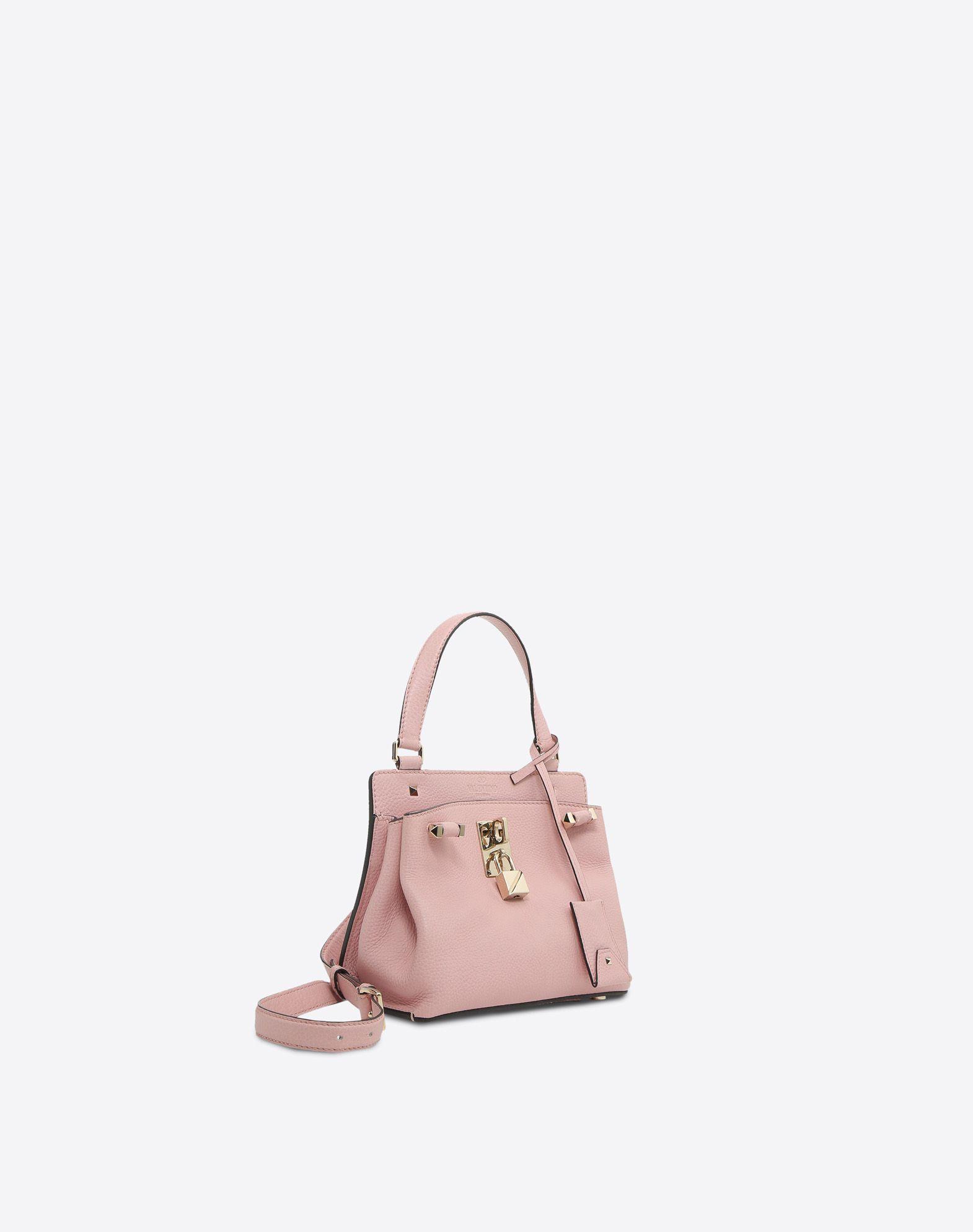 VALENTINO GARAVANI Joylock Small Handle Bag HANDBAG D r