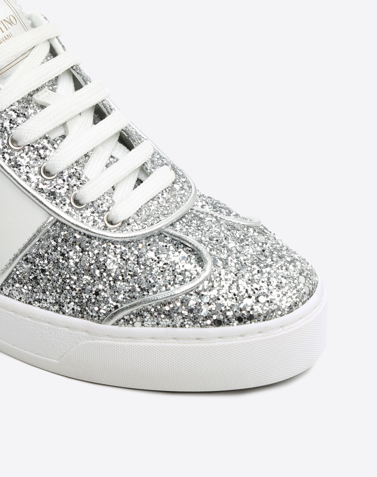 Valentino Glitter Sneaker Clearance Cheapest Discount Cheap Online High Quality wdAybClaBg
