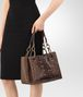 BOTTEGA VENETA DARK CALVADOS INTRECCIATO NAPPA SHOULDER BAG Shoulder or hobo bag D ap
