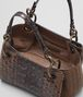 BOTTEGA VENETA DARK CALVADOS INTRECCIATO NAPPA SHOULDER BAG Shoulder or hobo bag D dp