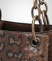 BOTTEGA VENETA DARK CALVADOS INTRECCIATO NAPPA SHOULDER BAG Shoulder or hobo bag D ep