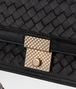 BOTTEGA VENETA NERO INTRECCIATO NAPPA TOP HANDLE BAG Top Handle Bag D ep