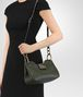 BOTTEGA VENETA MOSS INTRECCIATO NAPPA SHOULDER BAG Shoulder or hobo bag D ap