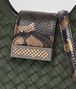 BOTTEGA VENETA MOSS INTRECCIATO NAPPA SHOULDER BAG Shoulder or hobo bag D ep