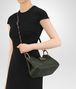 BOTTEGA VENETA MOSS INTRECCIATO NAPPA SHOULDER BAG Shoulder or hobo bag D lp