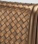 BOTTEGA VENETA ORO SCURO INTRECCIATO NAPPA MINI MONTEBELLO BAG Clutch D ep