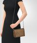 BOTTEGA VENETA ORO SCURO INTRECCIATO NAPPA MINI MONTEBELLO BAG Clutch Woman lp