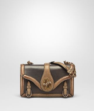 ORO SCURO LIZARD CITY KNOT BAG