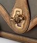 BOTTEGA VENETA ORO SCURO LIZARD CITY KNOT BAG Shoulder or hobo bag D ep