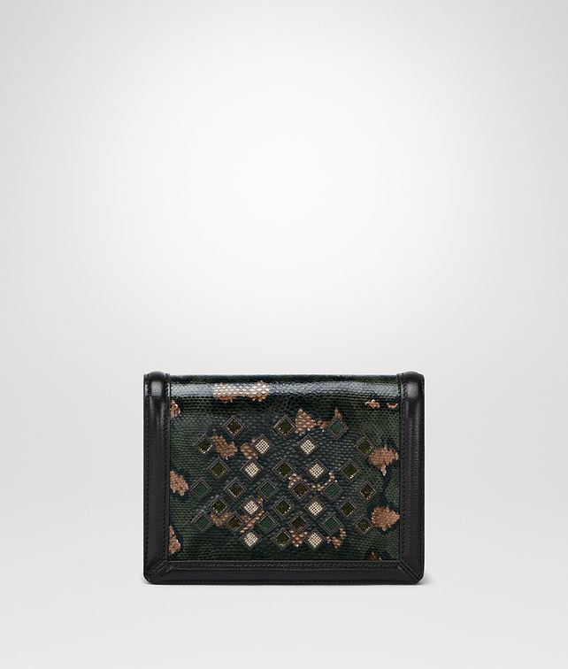 BOTTEGA VENETA INTENSE MOSS KARUNG MINI MONTEBELLO BAG Clutch D fp