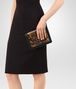 BOTTEGA VENETA OCRE KARUNG MINI MONTEBELLO BAG Clutch D ap