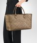 BOTTEGA VENETA ORO SCURO CALF MEDIUM CABAT Tote Bag Woman ap