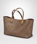 BOTTEGA VENETA ORO SCURO CALF MEDIUM CABAT Tote Bag Woman rp