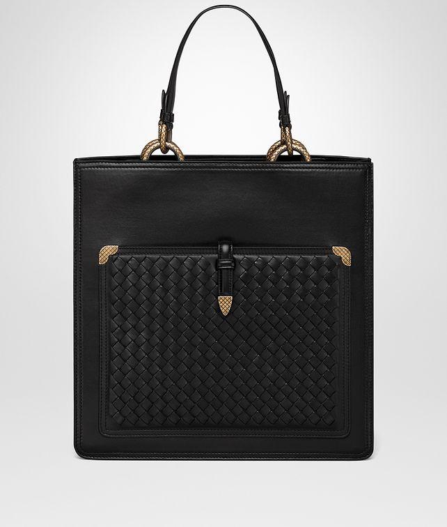 BOTTEGA VENETA NERO NAPPA TOSCANA BAG Tote Bag Woman fp
