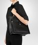 BOTTEGA VENETA TOSCANA TASCHE AUS NAPPA IN NERO Shopper D lp