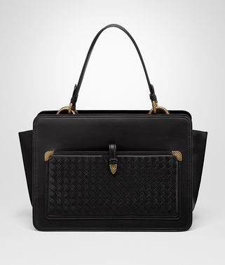 NERO NAPPA SHOULDER BAG