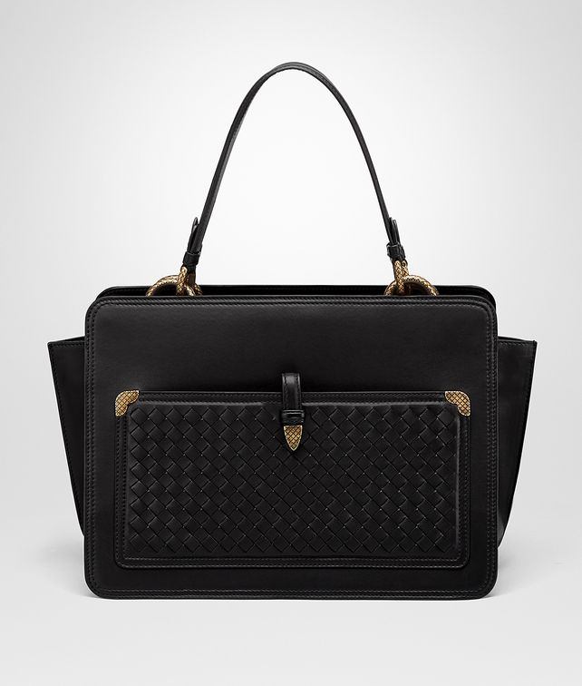 BOTTEGA VENETA NERO NAPPA SHOULDER BAG Tote Bag D fp