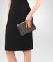 BOTTEGA VENETA DARK BRONZE INTRECCIATO NAPPA MINI MONTEBELLO BAG Clutch Woman ap