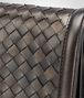 BOTTEGA VENETA DARK BRONZE INTRECCIATO NAPPA MINI MONTEBELLO BAG Clutch Woman ep