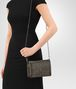 BOTTEGA VENETA DARK BRONZE INTRECCIATO NAPPA MINI MONTEBELLO BAG Clutch Woman lp