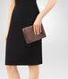 BOTTEGA VENETA DARK COPPER INTRECCIATO NAPPA MINI MONTEBELLO BAG Clutch D ap