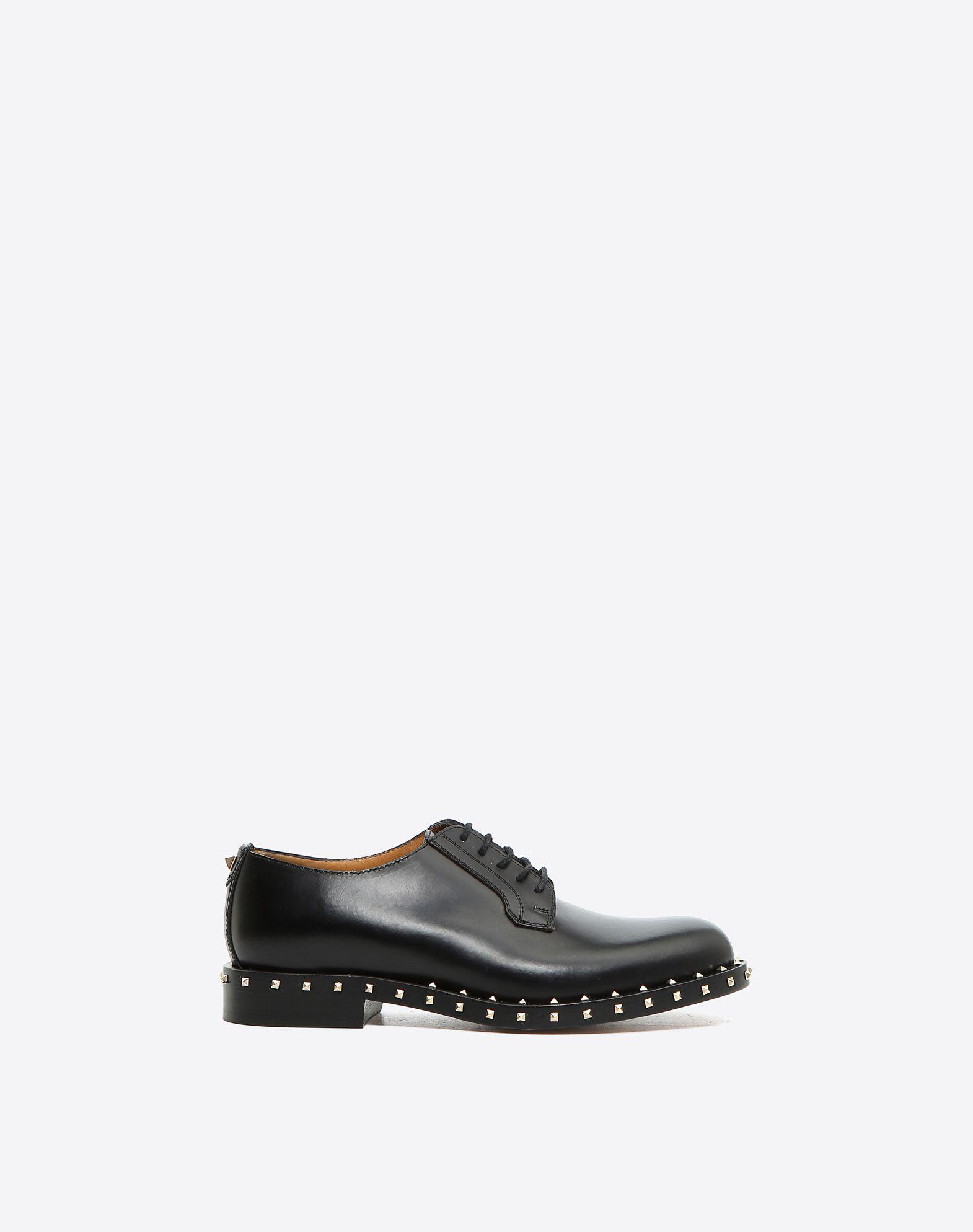 VALENTINO 系带 圆头鞋头 真皮鞋底   45367038kc
