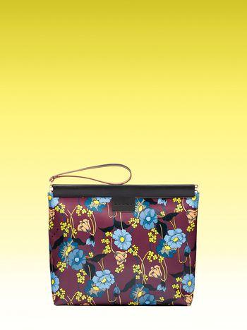 Marni Medium clutch with Melodia Flower print Man
