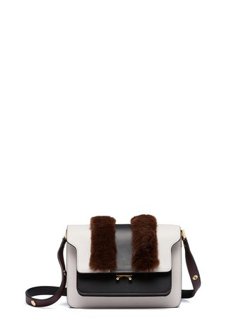 Marni TRUNK bag in lapin rex Woman