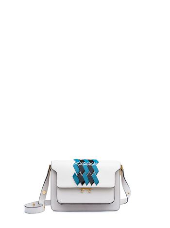 Marni TRUNK bag bi-coloured application Woman