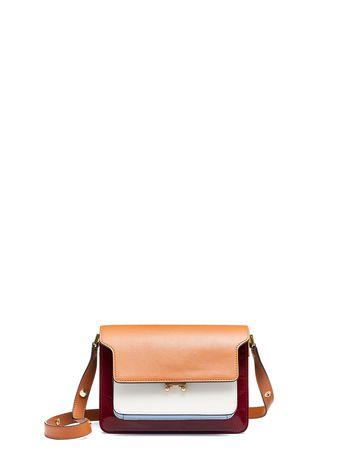 Marni Tri-coloured TRUNK bag in nappa lak leather  Woman