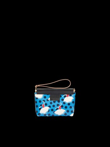 Marni Small clutch with Pirouette print Man