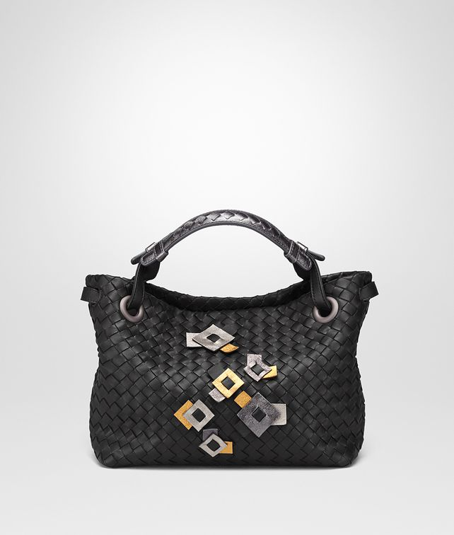 BOTTEGA VENETA SMALL SHOULDER BAG IN INTRECCIATO NAPPA WITH Kaleidoscope DETAILS Shoulder or hobo bag D fp