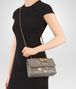 BOTTEGA VENETA BABY OLIMPIA IN INTRECCIATO NAPPA STEEL WITH Kaleidoscope DETAILS Shoulder or hobo bag D ap