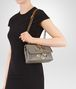BOTTEGA VENETA BABY OLIMPIA IN INTRECCIATO NAPPA STEEL WITH Kaleidoscope DETAILS Shoulder or hobo bag D lp