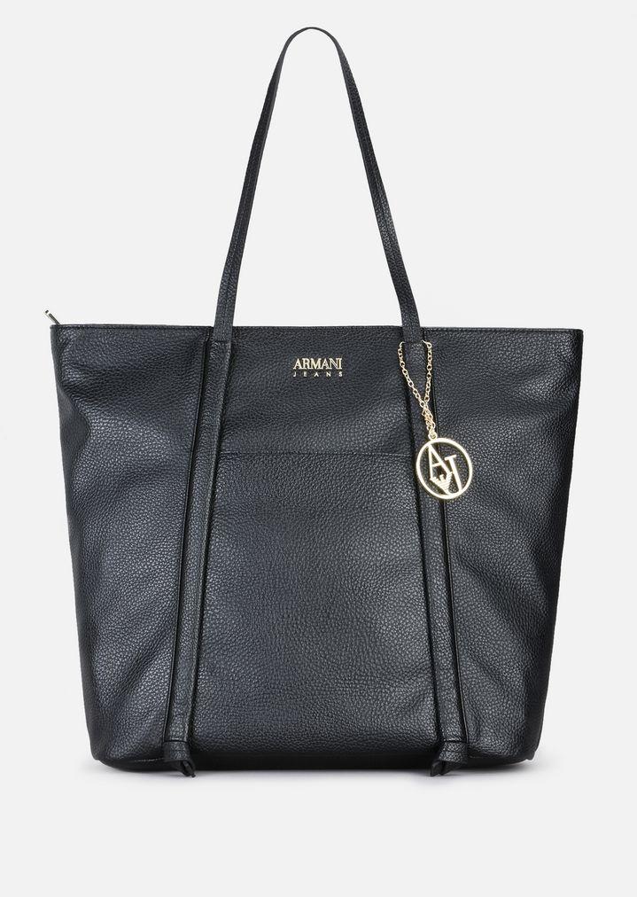 SHOPPING BAG IN FAUX NAPPA  a5adca5ec5147