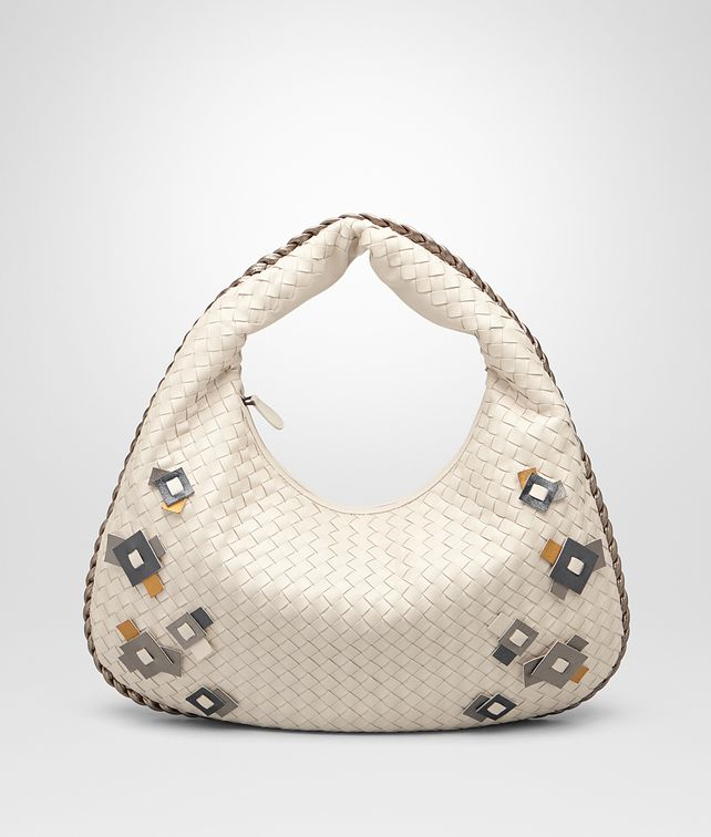 BOTTEGA VENETA MEDIUM VENETA IN INTRECCIATO NAPPA MIST WITH Kaleidoscope DETAILS Shoulder Bag Woman fp