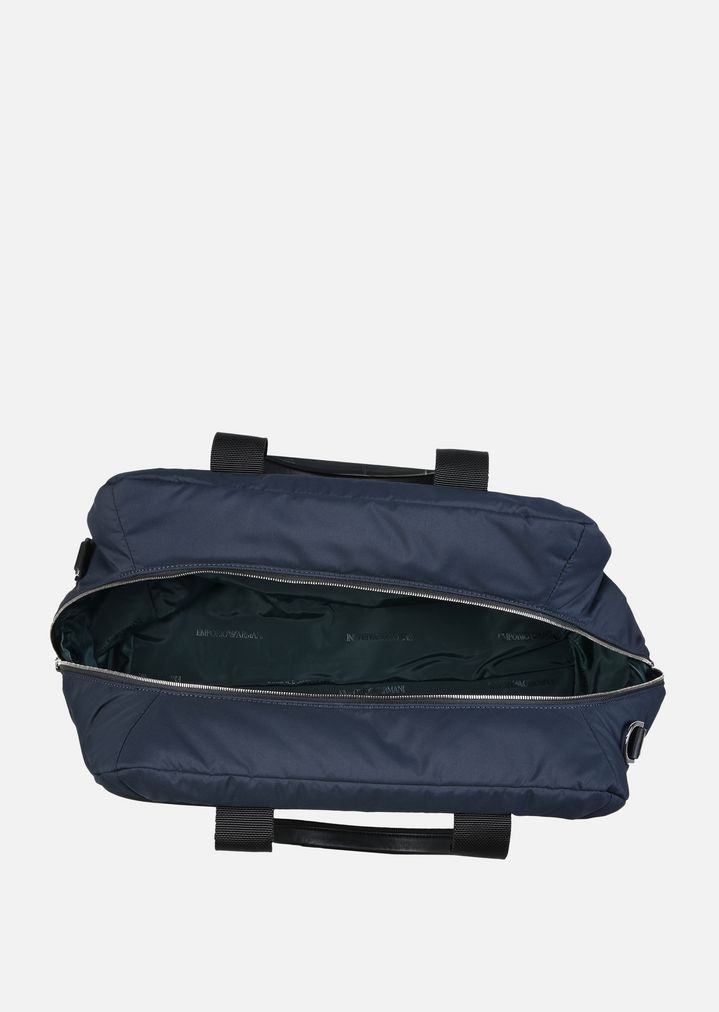 9fb8e01686fe NYLON DUFFEL BAG WITH SHOULDER STRAP