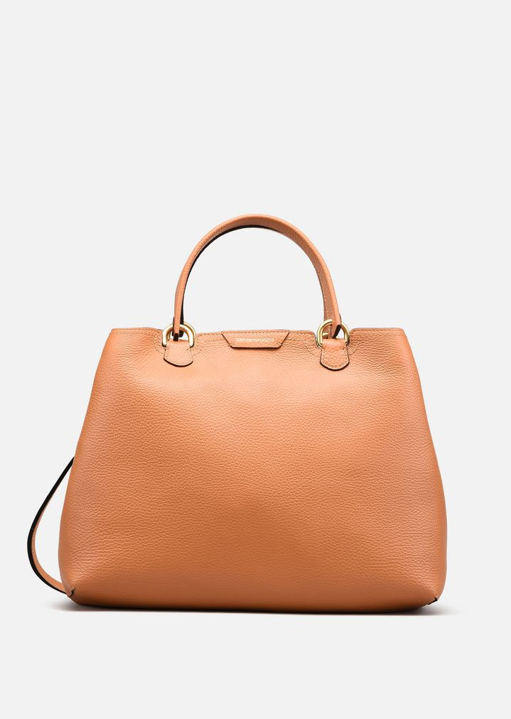 21be41136a7b SHOPPING BAG IN LEATHER