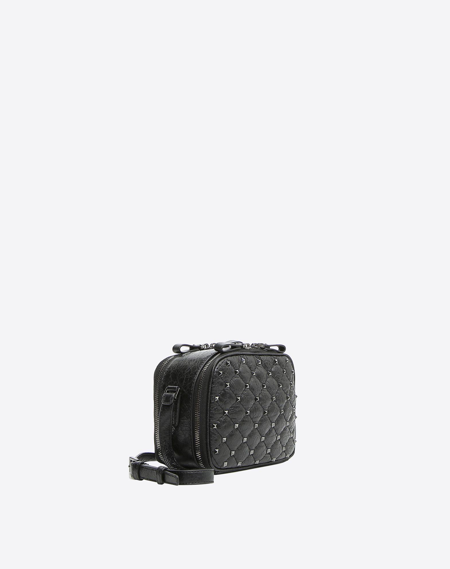 VALENTINO GARAVANI Rockstud Spike Camera Bag Shoulder bag D r