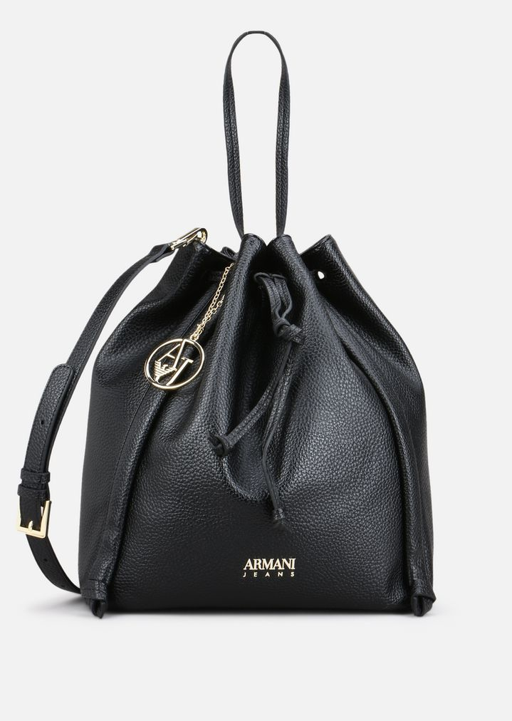 e9ea893fbbcb BUCKET BAG IN FAUX LEATHER | Woman | Emporio Armani