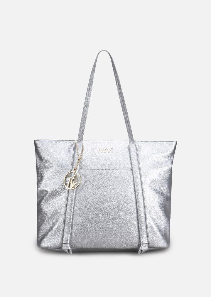 ecddbcfd45 SHOPPING BAG IN FAUX NAPPA | Woman | Emporio Armani
