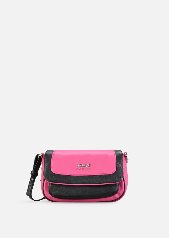 940274f2d79c CROSSBODY BAG WITH CONTRASTING DETAILS
