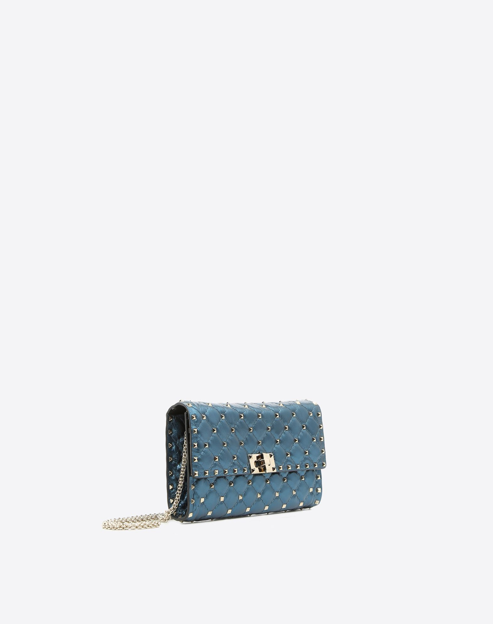 Rockstud Spike chain bag - Metallic Valentino Comfortable Cheap Online EDMZbo